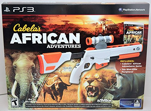 Ps3 Cabelas African Adventures Bundle With Gun