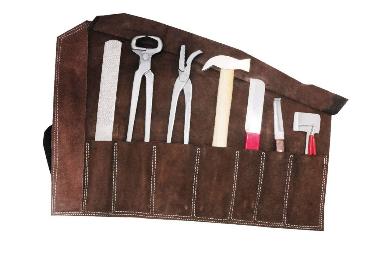 AMKA Amesbichler - En Estuche de Cuero 8 piezas herramientas ...