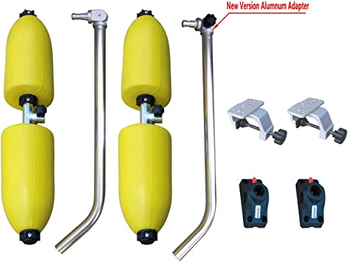 Brocraft Canoe Outriggers/Canoe Stabilizers System