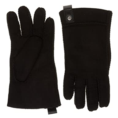 273680b7af26d6 UGG® Sidewall Damen Handschuhe Schwarz: Amazon.de: Bekleidung