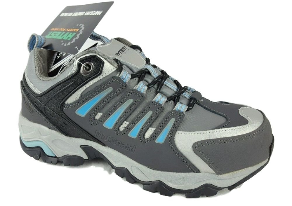 Wolverine Hytest K17116 Multi Sport Electrical Hazard,Non-Slip Steel-Toe Athletic Safety Work Shoe (10 C/D US, Blue)