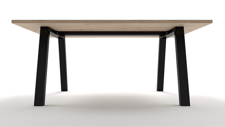 2x Patas para mesa de hierro, a medida, hogar, sala, oficina ...