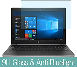 """Synvy Anti Blue Light Tempered Glass Screen Protector for HP ProBook 455 G5 15.6"""" Visible Area 9H Protective Screen Film Protectors"""