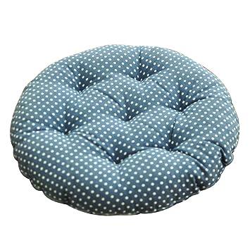 Cojines del sofá para la Estera Circular de la Yoga para ambientalmente amistoso e insípido Cojín de la Silla de la Estera del Piso Máquina Durable Lavable: ...
