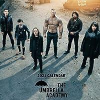 """The Umbrella Academy: 2021 Wall Calendar - Mini Calendar, 7""""x7"""", 12 Months"""