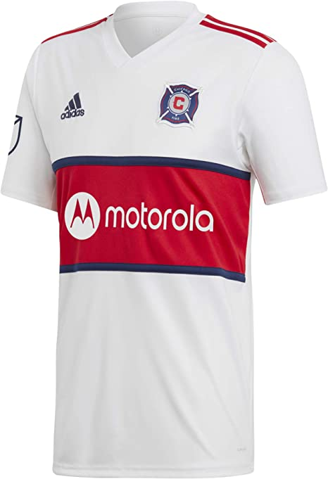 adidas Camiseta 2ª equipación Chicago Fire 2018-2019, Color Blanco/Rojo: Amazon.es: Deportes y aire libre