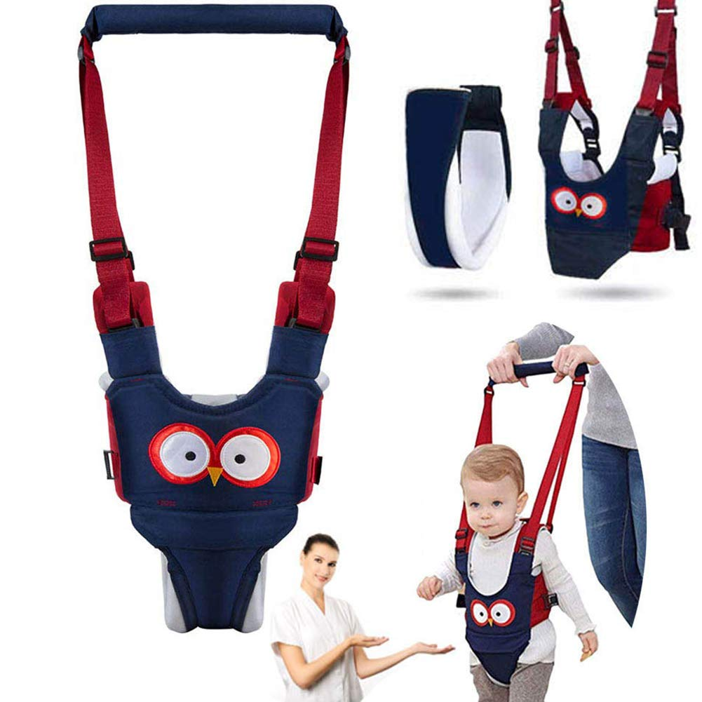 Blue//Mesh Baby Walking Harness Helper,Walking Wing Learning to Walk Assistant,Adjustable Safety Baby Walker Harness,Learning Leash Kids Safety Belt for Baby 6-36 Months