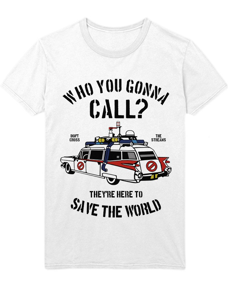 Hypeshirt T-Shirt Ghostbusters Who You GOONNA Call C38920: Amazon.de:  Bekleidung