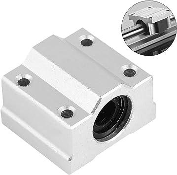 Bewinner - 4 Bolas de rodamiento Lineal para Impresora 3D SCS8UU ...