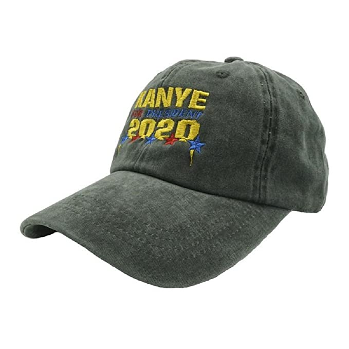 52744c2fb4 Image Unavailable. Image not available for. Color  Nissi Kanye 2020 Dad Hat