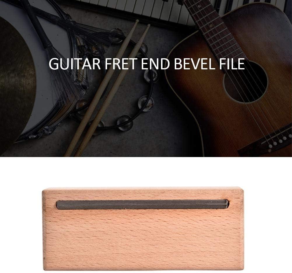 Fret End Dressing Feile für Gitarre,Bass,Mandoline Gitarrenbauer Werkzeug