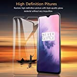 Oneplus 7T / One Plus 7T / 1+7T Screen Protector Glass Tempered [Easy Installation] [9H Hardness] [Scratch Resistant] [Non-Bubbles] HD by Nice.Store.UAE