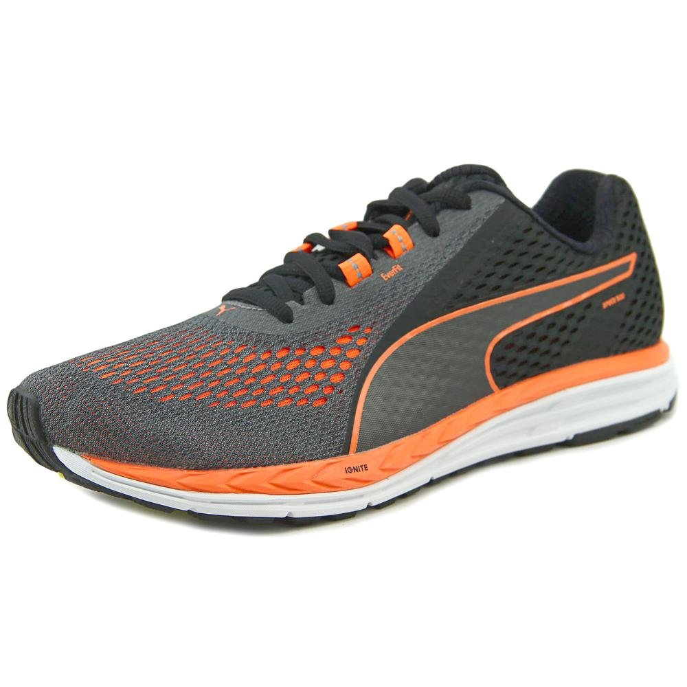PUMA Men's Speed 500 Ignite 2 Running Shoe B074WHQD32 12 D(M) US|Puma Black/Shocking Orange