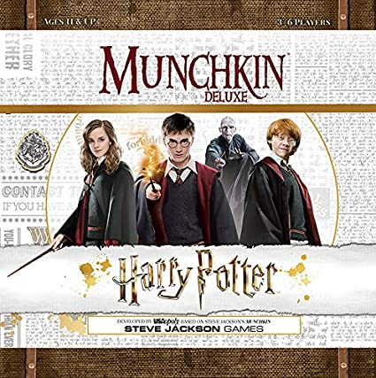 Flot Amazon.com: USAOPOLY Munchkin Deluxe: Harry Potter Card Game ED-43
