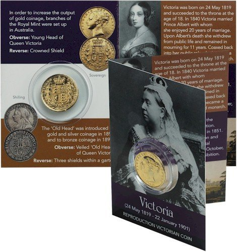 Queen Victoria Coin Pack - Victorian Sovereign by Artsinhistory (Queen Sovereign)