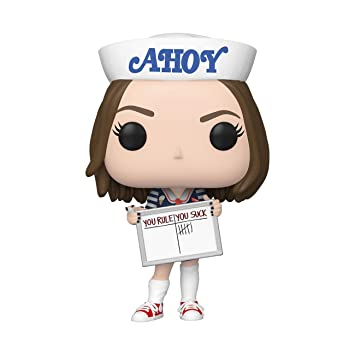 Funko- Pop TV: Stranger Things-Robin Figura Coleccionable ...