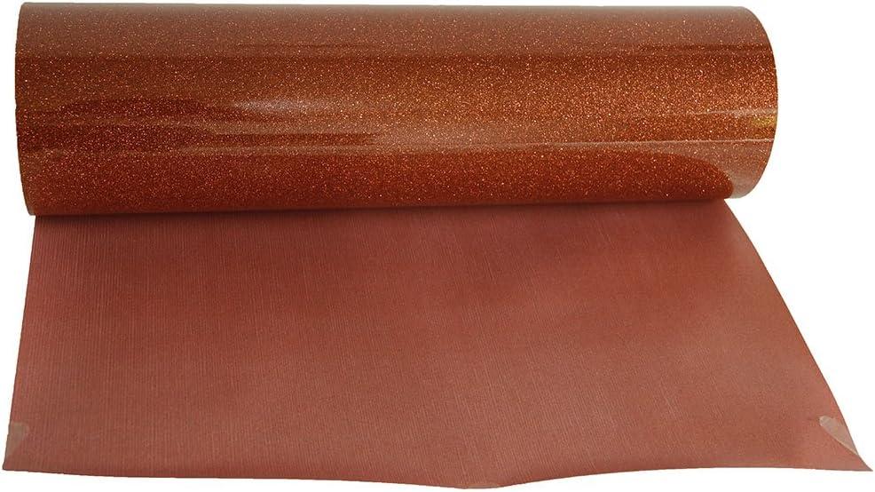 hoho Sparkle Glitter prensa para planchar cobre hoja de papel de transferencia de calor de vinilo corte patrón película HTV 20