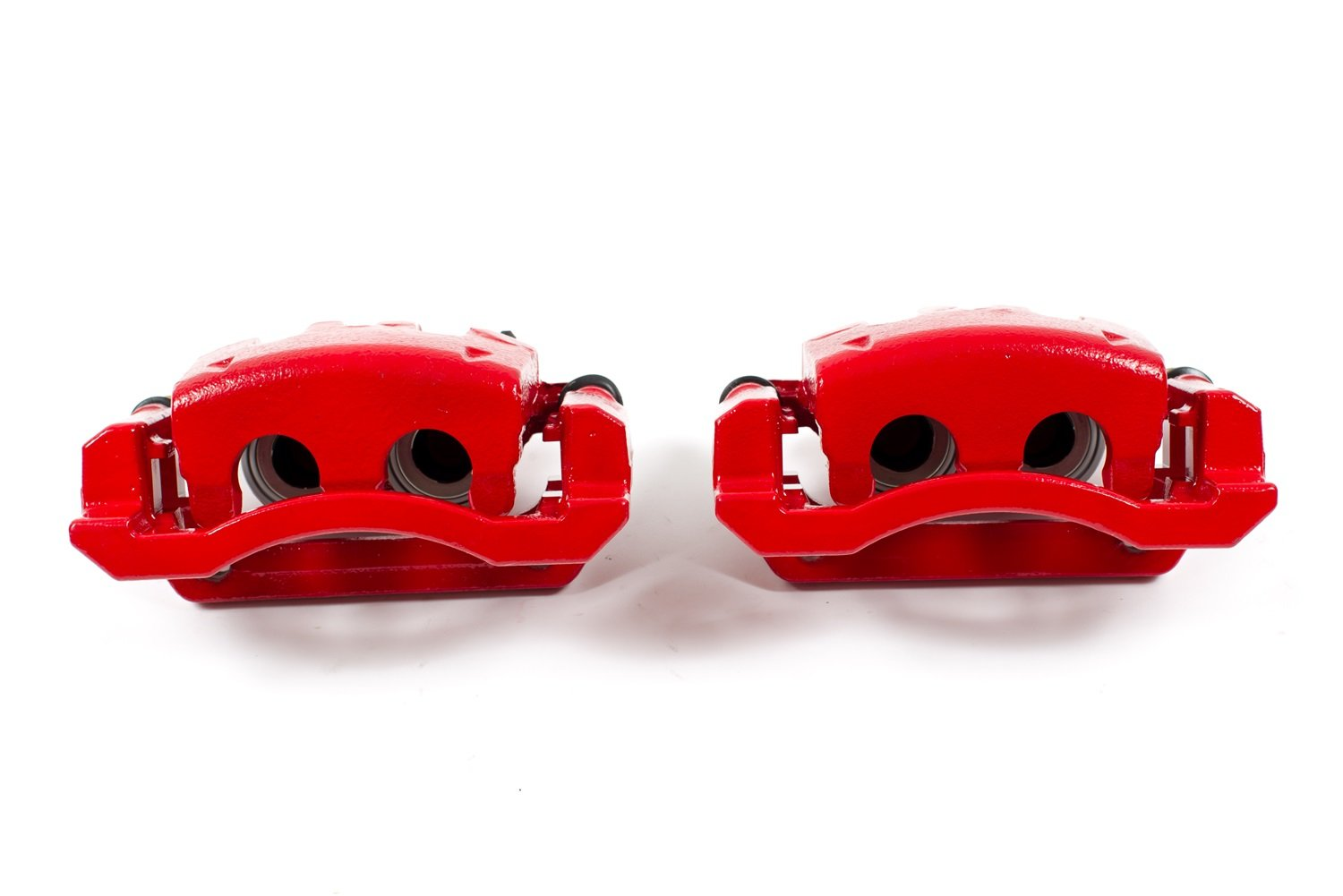 Power Stop S5076 Red Powder-Coated Performance Caliper