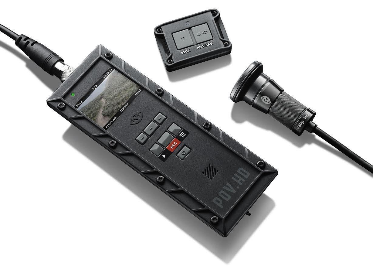 VIO POV HD 1080P Hunting Paintball Airsoft Kill Camera 47° Narrow View Tele Photo Lens Recorder IP67 by V.I.O