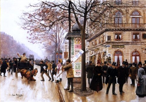 Jean-Georges Beraud Street Scene - 18.05