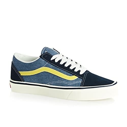 74b6a620b1 Vans Old Skool Lite + (reissue) blue lemon  Amazon.co.uk  Shoes   Bags