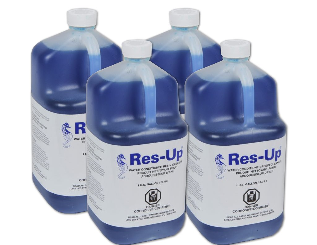 Res-up water softener cleaner - Case of 4 Gallons by Res-Up