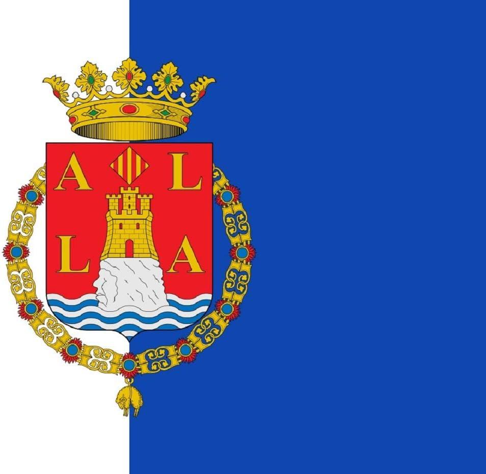 Durabol Bandera de Alicante 150x90cm Satén: Amazon.es: Deportes y aire libre