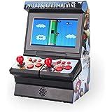 Nuevo Mini Arcada Consola de juegos de mano 8 dígitos Inalámbrico Pantalla grande Neutro De mano Juego Maquina