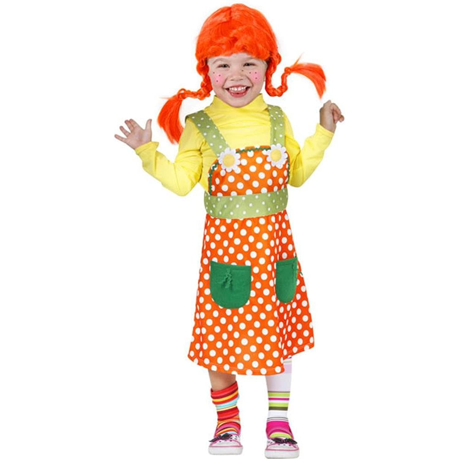 amazoncom toddler peppy swedish girl costume size2t 4t clothing - 4t Halloween Costumes Girls