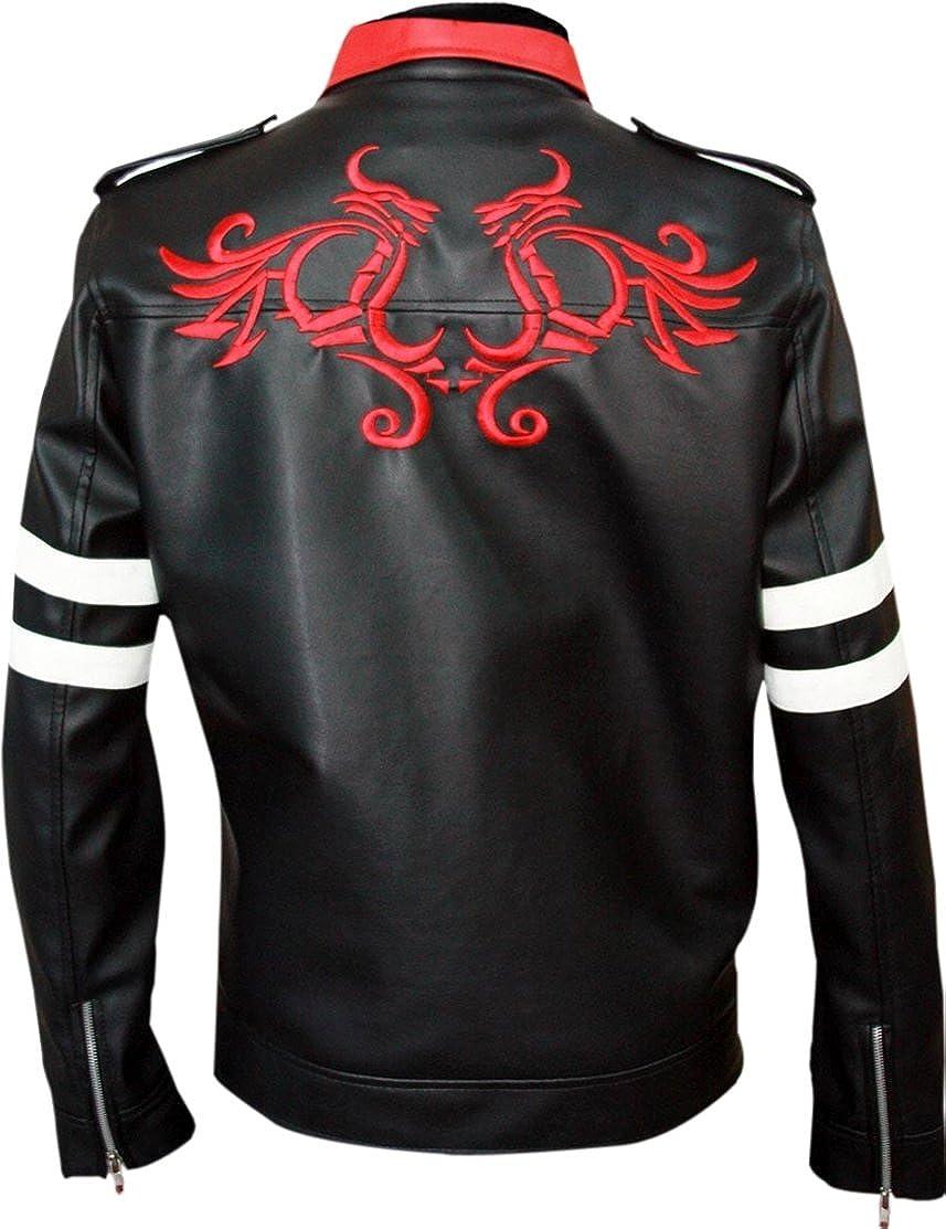 LEATHER ICON STORE New Men's Alex Mercer Dragon Prototype Jacket Amazon