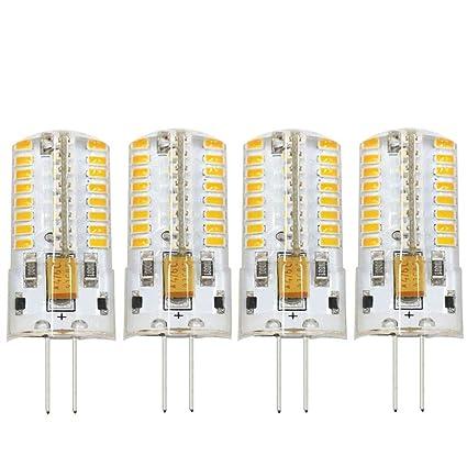Attraktiva Amazon.com: Dayker 4W G4 LED Bi Pin Bulb Dimmable Jc Type AC/DC IG-08