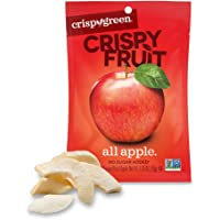 Crispy Green Freeze-Dried Fruits, Non-GMO, Gluten Free, No Sugar Added, Fruit, Apple (12 Count of 0.35 oz Packets), 4.2…