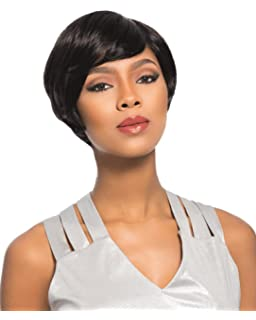 Queen Plus Hair Brazilian Human Hair Wigs For Black Women Short Bob Wigs Natural Color With