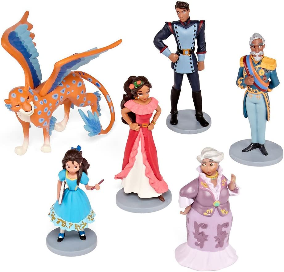 NEW Disney Store Elena of Avalor Figurine 6 pcs Play Set Cake Topper