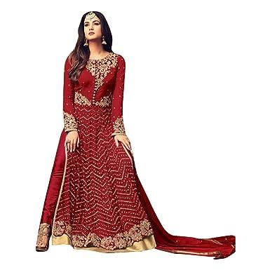 langes Kleid Muslimischen Anarkali Salwar Kameez Indian Neue ...
