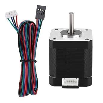 Accesorios de la impresora 3D Motor paso a paso de 3V 17HS8401S DC ...