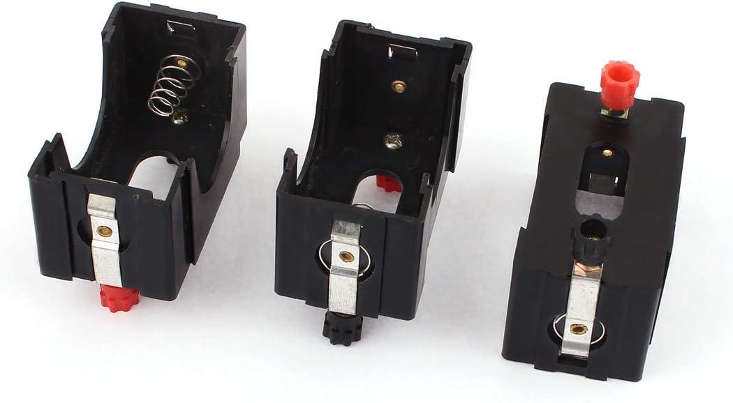 3 Piezas Plástico D Tamaño Baterías Soporte Caja Case Físicas ...