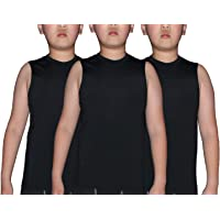 Slim-Fit Tank Top Hip Pop Undershirt for Youth /& Adult Men Boys