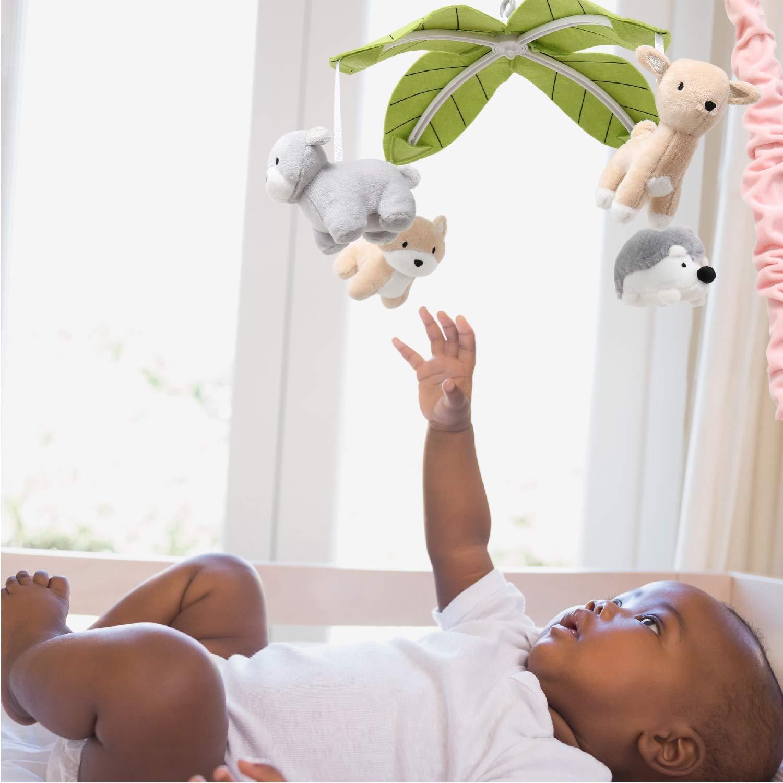 crib mobiles safe for girls