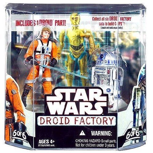 Hasbro Star Wars Saga 2008 Build-A-Droid Factory Action F...