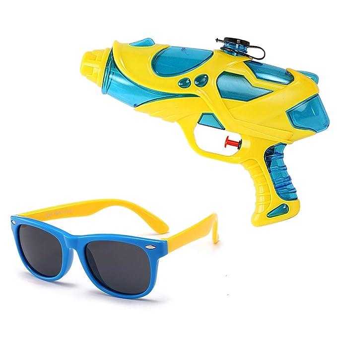 Amazon.com: Gafas de sol para niños y niñas y pistola de ...