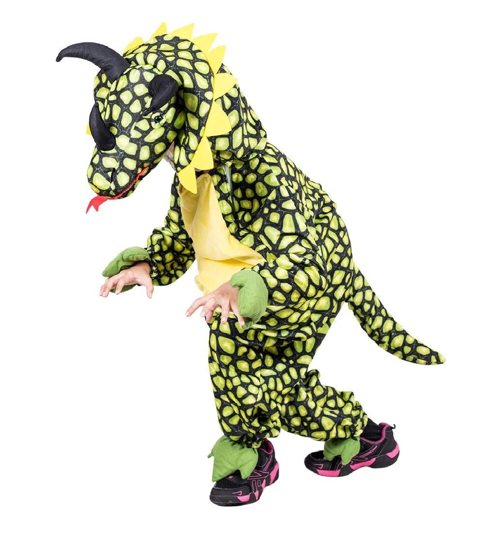 Disfraz de Dino Triceratops, F123 tamaño 3-4 anos, para niños, disfraces para carnaval, dinosaurio-s para niños pequeños