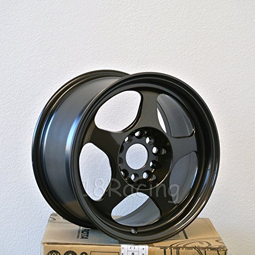 4 PCS ROTA SLIPSTREAM WHEELS 15X7 PCD:5x100 OFFSET:35 HB:57.1 GUNMETAL - Wheel Rota