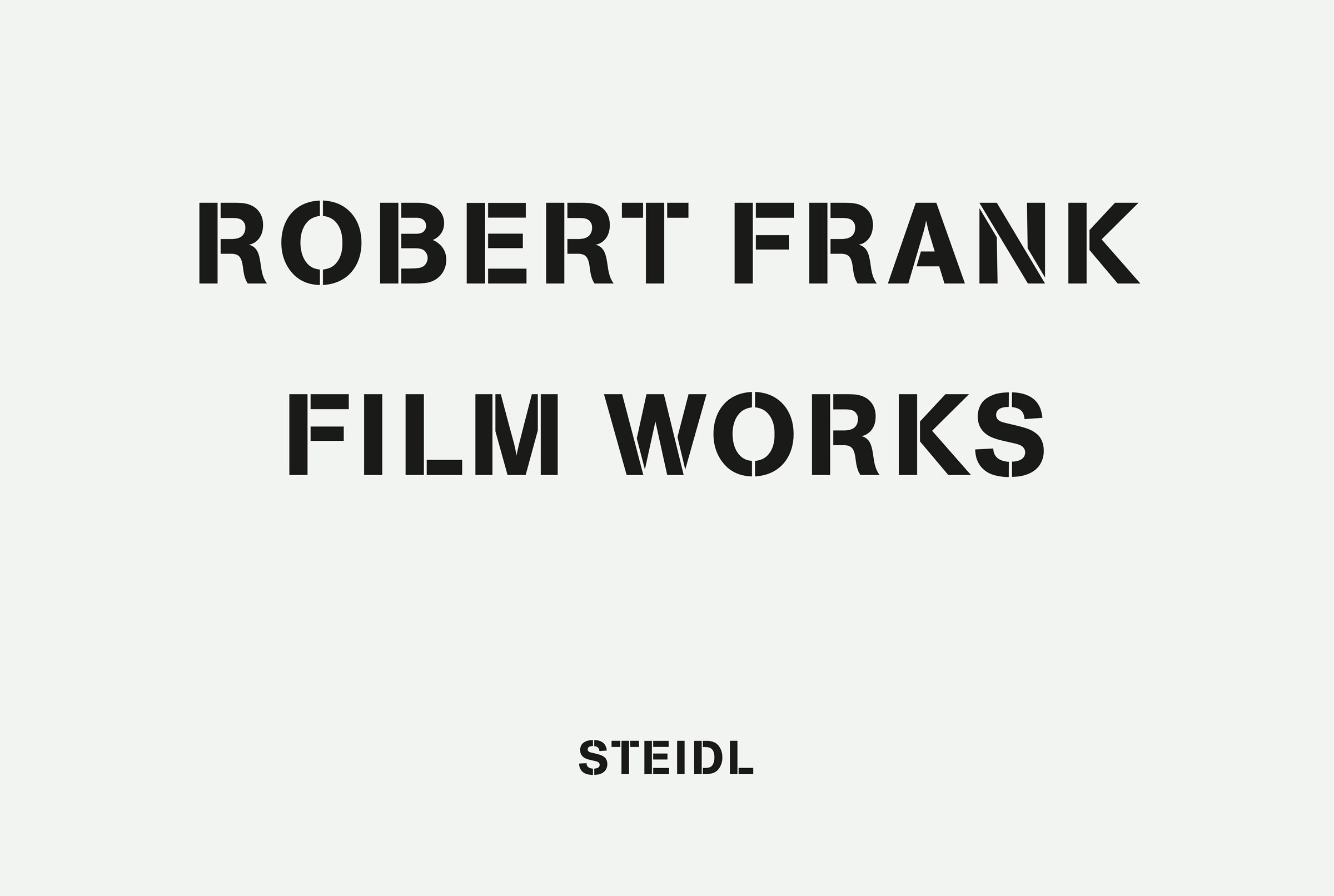 Robert Frank film works por Robert Frank