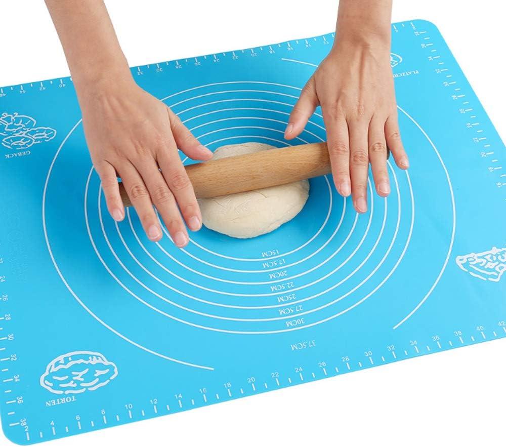 Dough Fondant Pastry Icing Rolling Mat Baking Mat Silicone Sheet Non Stick