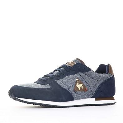 52b43a0a0c63 Le Coq Sportif Onyx 2Tones/Suede Chaussure Homme Bleu Taille 40: Amazon.fr:  Chaussures et Sacs