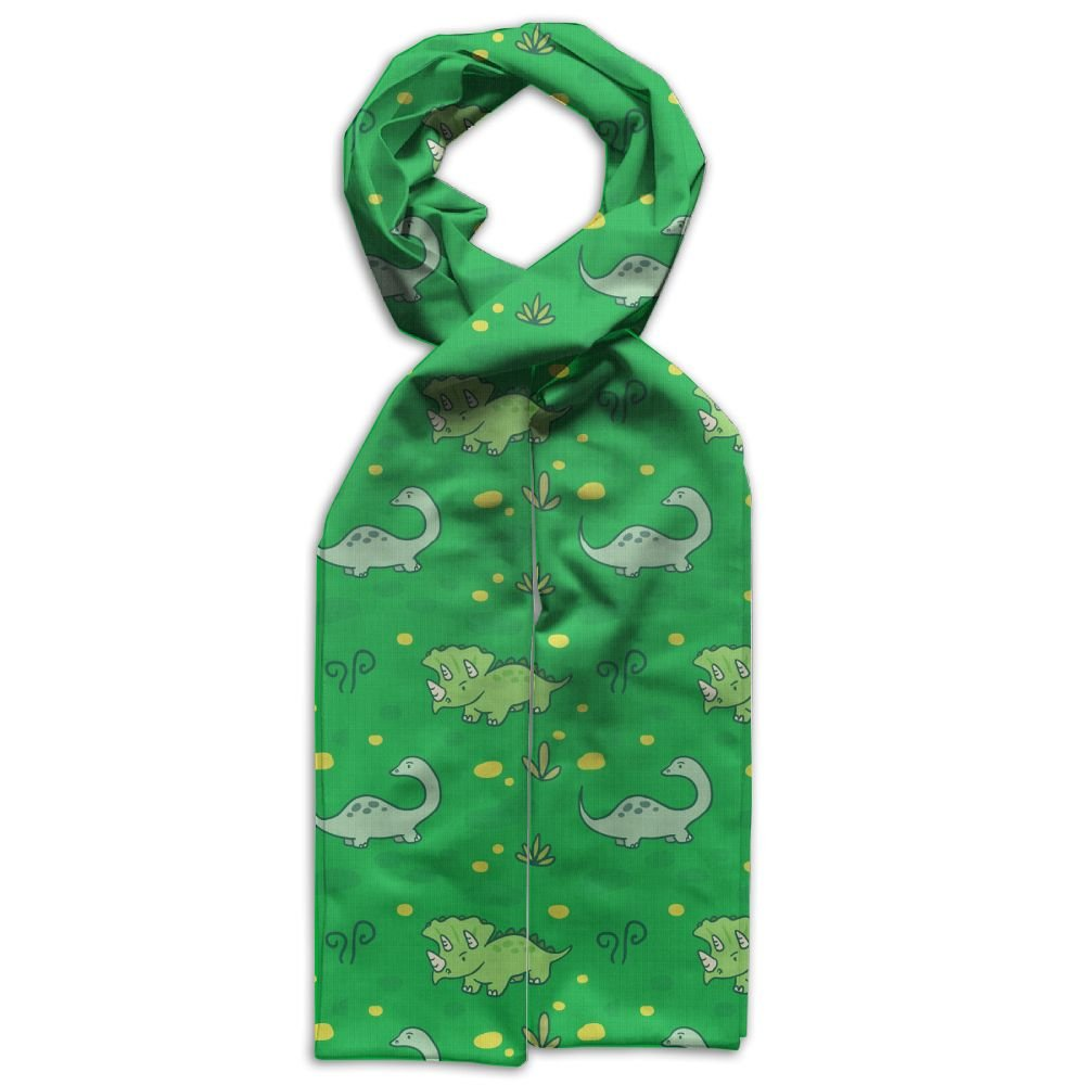 Colorful Cute Dinosaur Printing Scarf Warm Soft Fashion Scarf Shawl Kids Boys Girls