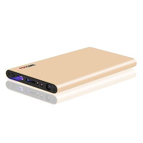 fstcom HD 1080P cámara oculta espía inalámbrica Wifi mando a distancia niñera Cam Powerbank vigilancia Cam