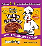 Meaty Treat Bak'N Creation Dog Treats Bacon & Cheese, 25 Oz, 1Piece For Sale