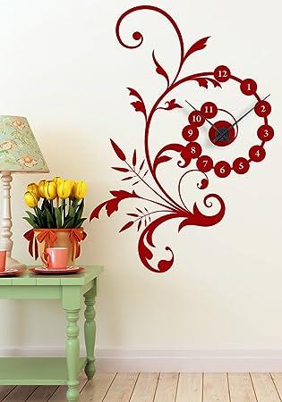 horloge cuisine rouge rouge noir with horloge cuisine rouge cheap horloge cuisine rouge with. Black Bedroom Furniture Sets. Home Design Ideas